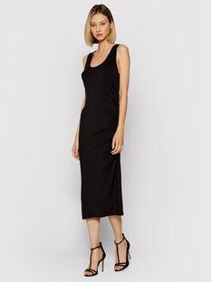 DKNY Sukienka letnia DD1CL727 Czarny Regular Fit