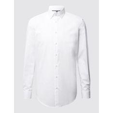 Koszula męska Jake*s z lycry z długim rękawem bez wzorów