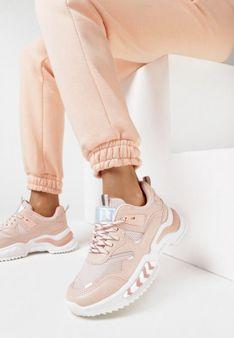 Różowe Sneakersy Phiophine