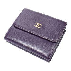 Kompaktowy portfel z logo CC