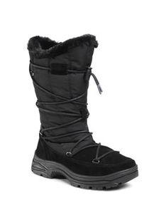 CMP Śniegowce Kaus Wmn Snow Boots Wp 30Q4666 Czarny