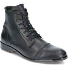 Buty zimowe męskie Kent czarny