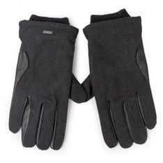 Rękawiczki Męskie PEPE JEANS - Antuan Gloves PM080051  Black 999