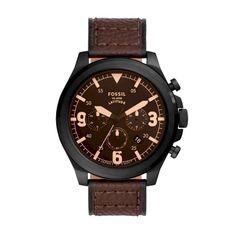 Zegarek FOSSIL - Latitude  FS5751  Brown/Black