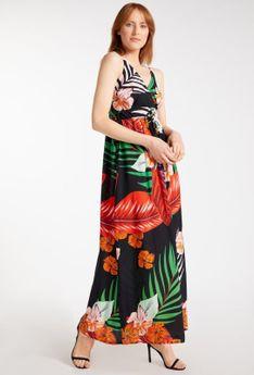 Letnia sukienka na ramiączka