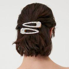 Sinsay - Spinki do włosów 2 pack - Wielobarwny