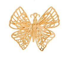 Pierścionek z motylem M