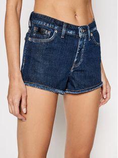 John Richmond Szorty jeansowe Kate RWP21138SH Granatowy Skinny Fit