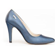 Czółenka Zapato na szpilce skórzane w noskiem w szpic eleganckie