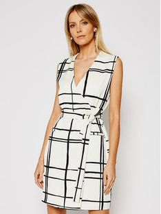 Marella Sukienka codzienna Salone 32212011 Beżowy Straight Fit