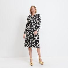 Mohito - Koszulowa sukienka Eco Aware - Czarny