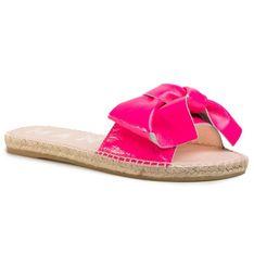 Espadryle MANEBI - Sandals With Bow F 9.1 J0 Pink Fluo