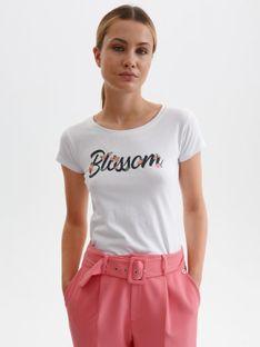T-shirt damski z napisem
