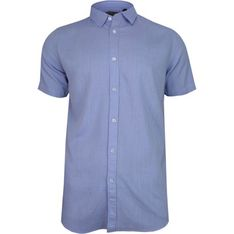Koszula męska Brave Soul z tkaniny z krótkimi rękawami
