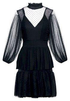 maje - Sukienka koktajlowa - czarny