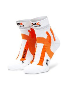 X-Socks Skarpety Wysokie Męskie Marathon XSRS11S19U Biały