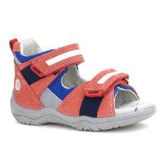 Sandały Bartek T-31917/sck Ii, Dla Dziewcząt, Czerwony