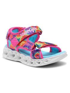 Skechers Sandały Color Groove 302160L/HPMT Różowy