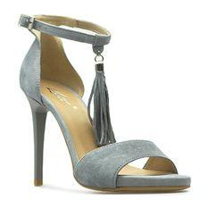 Sandały damskie Kati szary