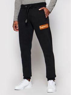 Superdry Spodnie dresowe Cl Workwear M7010552A Czarny Regular Fit