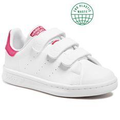 Buty adidas - Stan Smith Cf C FX7540 Ftwwht/Ftwwht/Bopink