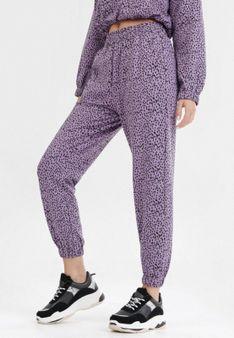 Fioletowe Spodnie Echorane