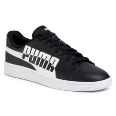 Sneakersy PUMA - Smash V2 Max 371135 04 Puma Black/Puma Black