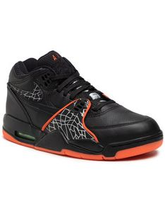 Nike Sneakersy Air Flight 89 Qs CT8478 001 Czarny