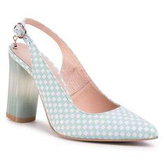 Sandały BALDACCINI - 1368000 Kratka Mięta/C
