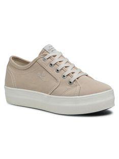 Gant Sneakersy Leisha 22538603 Beżowy