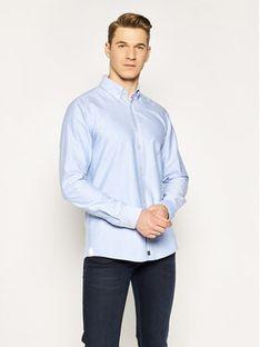 Strellson Koszula Core-W 30020175 Granatowy Regular Fit