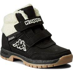 Buty zimowe dziecięce Kappa czarny