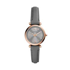 Zegarek FOSSIL - Carlie Mini ES5068 Grey/Gold