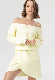 Żółta Sukienka Metiothyia