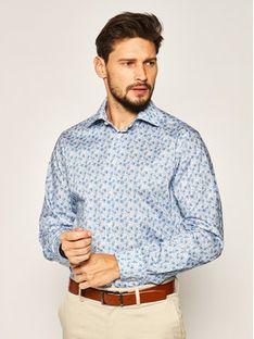 Eton Koszula 100001465 Niebieski Regular Fit