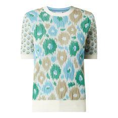 Bluzka z fakturowanym wzorem model 'Florine'