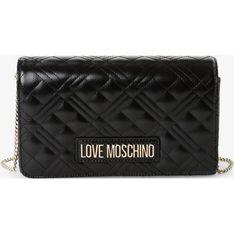 Kopertówka Love Moschino bez dodatków pikowana
