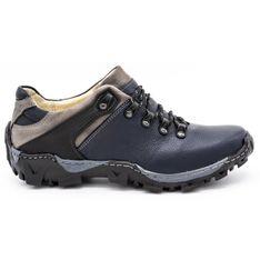 KENT Męskie buty trekkingowe 116 granatowe