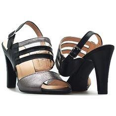 Sandały damskie Eksbut czarny