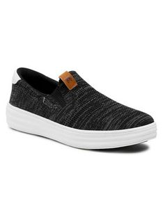 Wrangler Sneakersy Jelly Slip On WM11001A Czarny