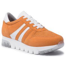 Sneakersy TAMARIS - 1-23749-26 Orange Suede 603