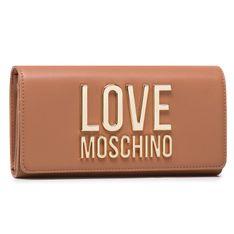 Duży Portfel Damski LOVE MOSCHINO - JC5614PP1CLJ020A  Camello