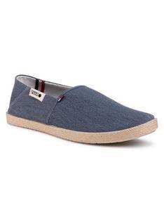 Tommy Jeans Espadryle Summer Jean Shoe EM0EM00524 Granatowy