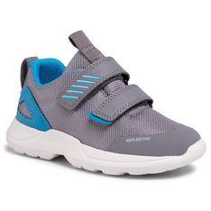 Sneakersy SUPERFIT - 6-09207-25 D Hellgrau/Blau