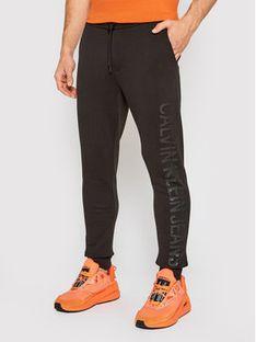 Calvin Klein Jeans Spodnie dresowe J30J317995 Czarny Regular Fit