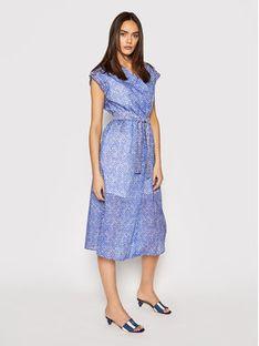 Marella Sukienka koszulowa Titania 32211512 Niebieski Regular Fit