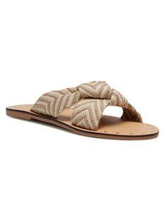 Manebi Klapki Leather Sandals S 3.0 Y0 Beżowy