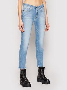 Calvin Klein Jeansy Ankle K20K202837 Niebieski