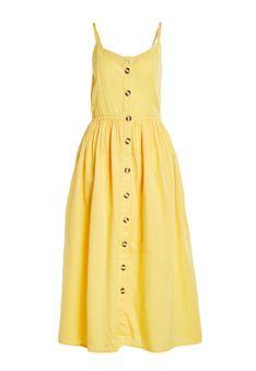 Vila - Sukienka letnia - żółty