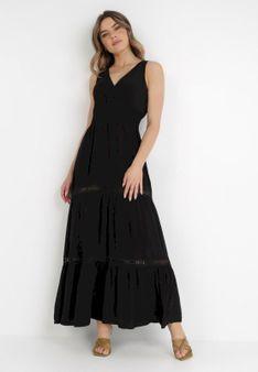 Czarna Sukienka Rhenemisa
